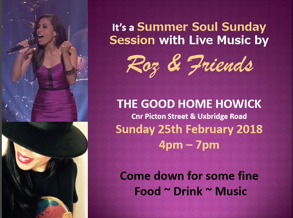 roz sunday music 4-7pm