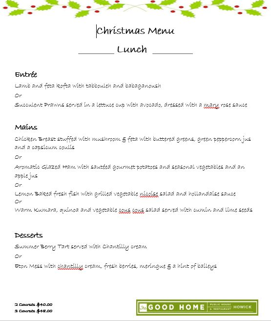 christmas lunch set menu 2017 for web